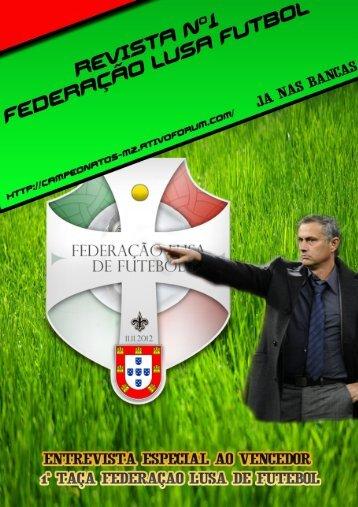 1ª Revista - Federação Lusa de Futebol