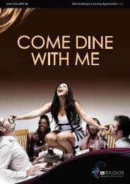 Come Dine With Me brand overview - ITV Studios