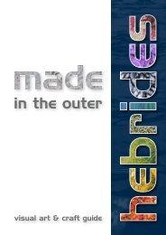 Made in the Outer Hebrides - Comhairle nan Eilean Siar