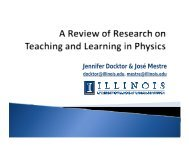 Jennifer Docktor & José Mestre - The National Academies