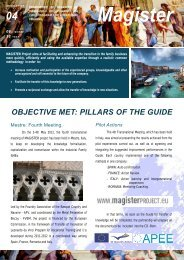 Mestre: Fourth Meeting (3-4/5/2012) - Magister Project