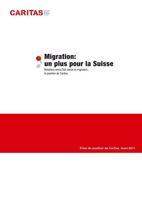 Migration: un plus pour la Suisse