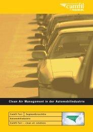 Automotive segment brochure - Camfil Farr