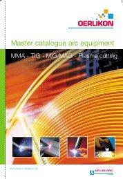 MMA – TIG – MIG/MAG – Plasma Cutting - Air Liquide Welding