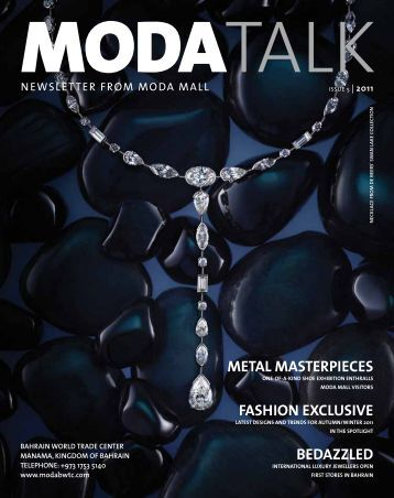 Metal Masterpieces fashiOn exclusive bedazzled - MODA Mall