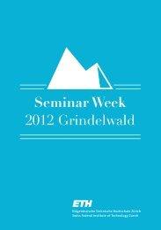 Seminar Week - Abteilung Pharmazie an der ETH