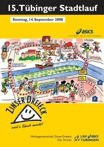 15.Tübinger Stadtlauf am Sonntag, 14. September 2008