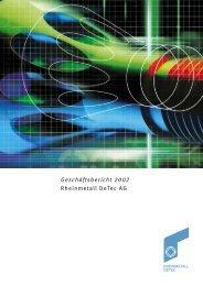 GB 2002 Rh DeTec 1Vorn - Rheinmetall AG