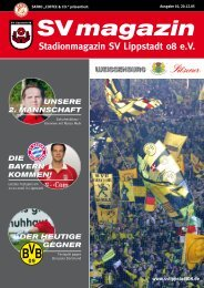 der heutige - SV Lippstadt 08