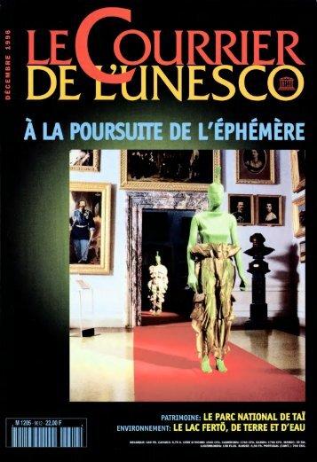 The UNESCO courier: a window open on the ... - unesdoc - Unesco