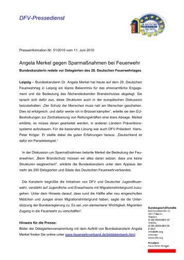 DFV-Pressedienst - Freiwillige Feuerwehr Eibelshausen