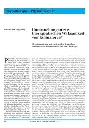 Untersuchungen zur therapeutischen ... - Verlag A.vogel AG