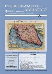 Bollettino n. 3 - Coordinamento Adriatico