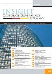 insight corporate Governa
