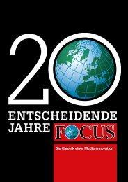 FOCUS - Chronik einer Medieninnovation - Das Entscheidende im ...