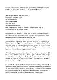 Rede von Bundeskanzlerin Dr. Angela Merkel ... - Aussiedler