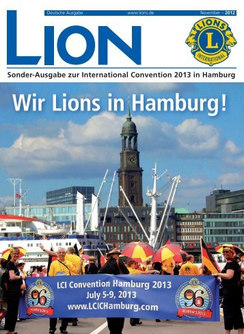 Sonderausgabe - 96. Lions Clubs International Convention Hamburg