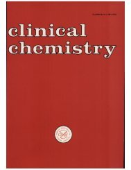 Front Matter (PDF) - Clinical Chemistry