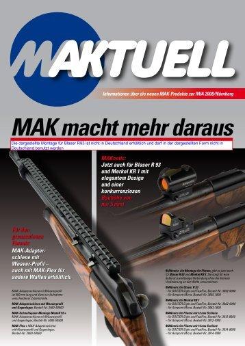 MAK macht mehr daraus - Kilic Feintechnik GmbH
