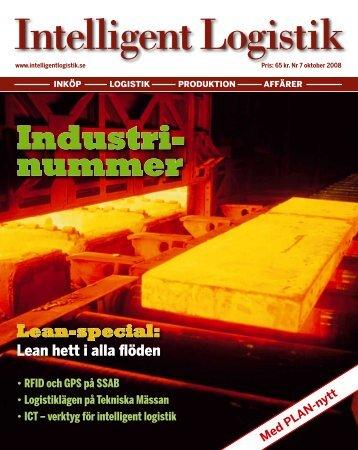 Industri- nummer - Intelligent Logistik