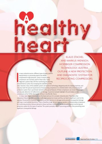 HOERBIGER RecipCOM - Healthy Heart. Hydrocarbon Engineering ...