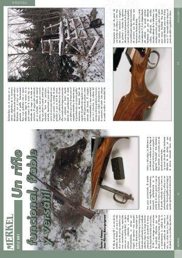 MERKEL Rifle KR1 Por Jean - Ardesa