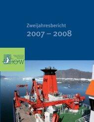 Zweijahresbericht - IOW