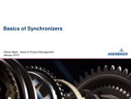 2013_ Basics of Synchronizers - Hoerbiger