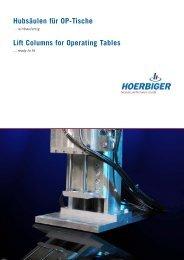 Lift Column C6 - Hoerbiger