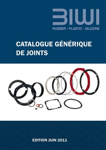 CATALOGUE GéNéRIQUE DE JOINTS - Biwi