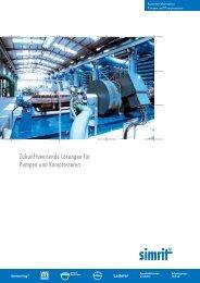 Branchenlösungen für Pumpen und Kompressoren - bei Simrit