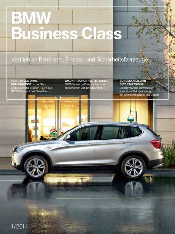 BMW Business Class INHALT - BMW Deutschland