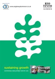 AA Sust Report 2006 - Rio Tinto
