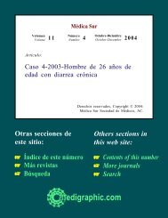 Caso 4-2003-Hombre de 26 años de edad con ... - edigraphic.com