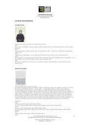 Scarica il profilo degli artisti - Cohabitat