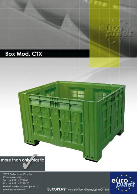 Box Mod. CTX - Europlast