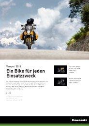 Versys / 2010 Ein Bike für jeden Einsatzzweck