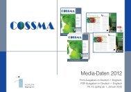 Download Themen- und Terminplan, Mediadaten - COSSMA