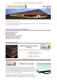 Siebdruckplatten im XXL- Format 3850 x 2150 mm ... - Höttcke Holz