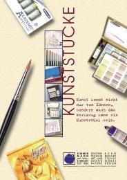 Art & Grafik Katalog als PDF - zimmermann am wall