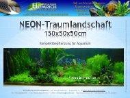 Komplettbepflanzung für Aquarium - Aquaristik-Studio Heimrich
