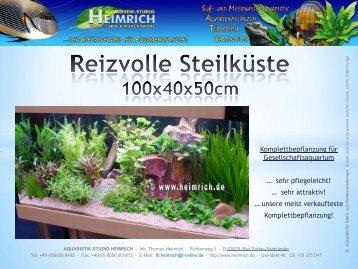 sehr pflegeleicht! - Aquaristik-Studio Heimrich