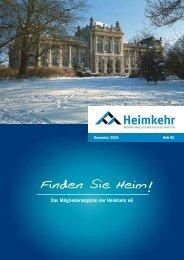 Mitteilungsblatt Teil 1 öffnen - Heimkehr-Hannover.de