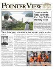Quadricentennial flotilla honored by West Point Soldiers and many ...