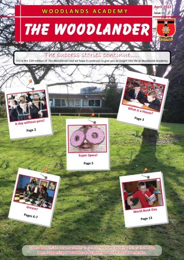 April 12 - Woodlands Academy