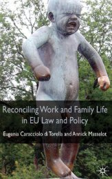 Reconciling Work and Family Life in EU Law and Policy