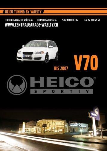 Preisliste Heico Vorlage - Central Garage Wälty AG