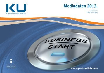 Mediadaten 2013 – Download (PDF) - MGO Mediadaten