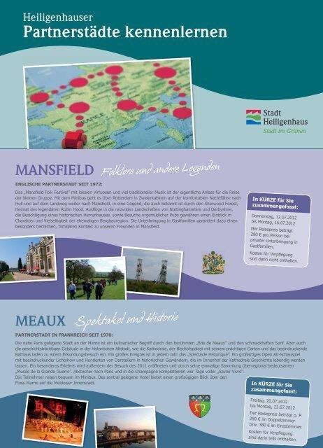 Flyer Partnerstädte kennenlernen web - Stadt Heiligenhaus