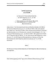 60.05 Satzung zum Schutz des Baumbestandes - Stadt Heiligenhaus
